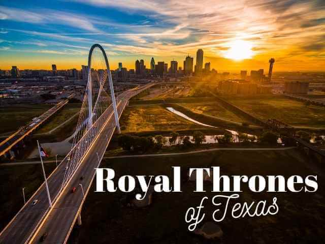 Royal Thrones of Texas skyline